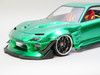 1/10 RC Car BODY Shell Mazda RX7 Wide Body 200mm *FINISHED* Green