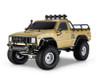 1/10 RC Pick Up Truck Body Shell 2 Door 313mm Brown