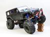 RC jeep Wrangler Black