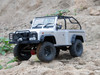 RC 1/10 Truck Body Shell MARAUDER -Finished-- SILVER-