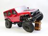 1/10 RC Jeep Wrangler 4 Door Rock Crawler RTR 313mm Red
