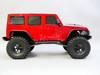1/10 RC Jeep Wrangler 4 Door Rock Crawler 4x4 RTR 313mm Red