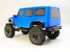 1/10 RC Jeep Wrangler 4 Door Rock Crawler 4x4 RTR 313mm Blue