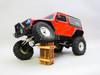 RC  Jeep Wrangler 2 Door Rock Crawler RTR  Red