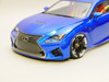 1/10 RC Car BODY Shell LEXUS RCF  *FINISHED* BLUE