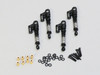 1/24 Axial SCX24 Upgrade METAL Suspension SHOCKS Aluminum 36mm (4) pcs RED