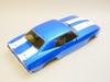 Kyosho 1/10 RC Body Shell  1969 CAMARO Z/28 200mm BLUE -Finished-