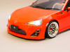 Custom RC 1/10 Drift TOYOTA 86 FRS AWD Drift Car RTR W/ LED Red