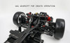 1/10 RC Car Chassis Xpress Execute FT1S FWD Touring Car 4wd -KIT-