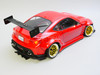 Custom 1/10 Yokomo RC Toyota BRZ RWD Wide Body Drift  W/ L.E.D Lights - RTR