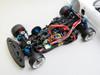 RC 1/10 Drift MAZDA RX7 FD W/ Pop Up Lights RTR W/ LED -BLACK-