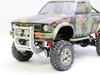 1/10 Toyota Pickup Truck Hard Body Shell Desert CAMO + Accessories