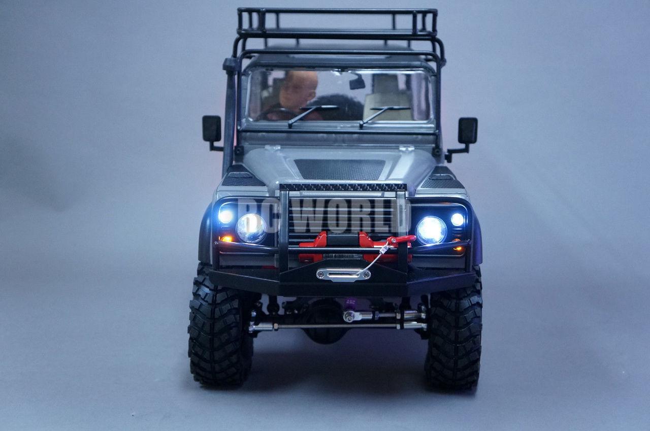 RC Front Bumper Bull Bar for D90 D110 Land Rover Defender 1//10 RC Model Car