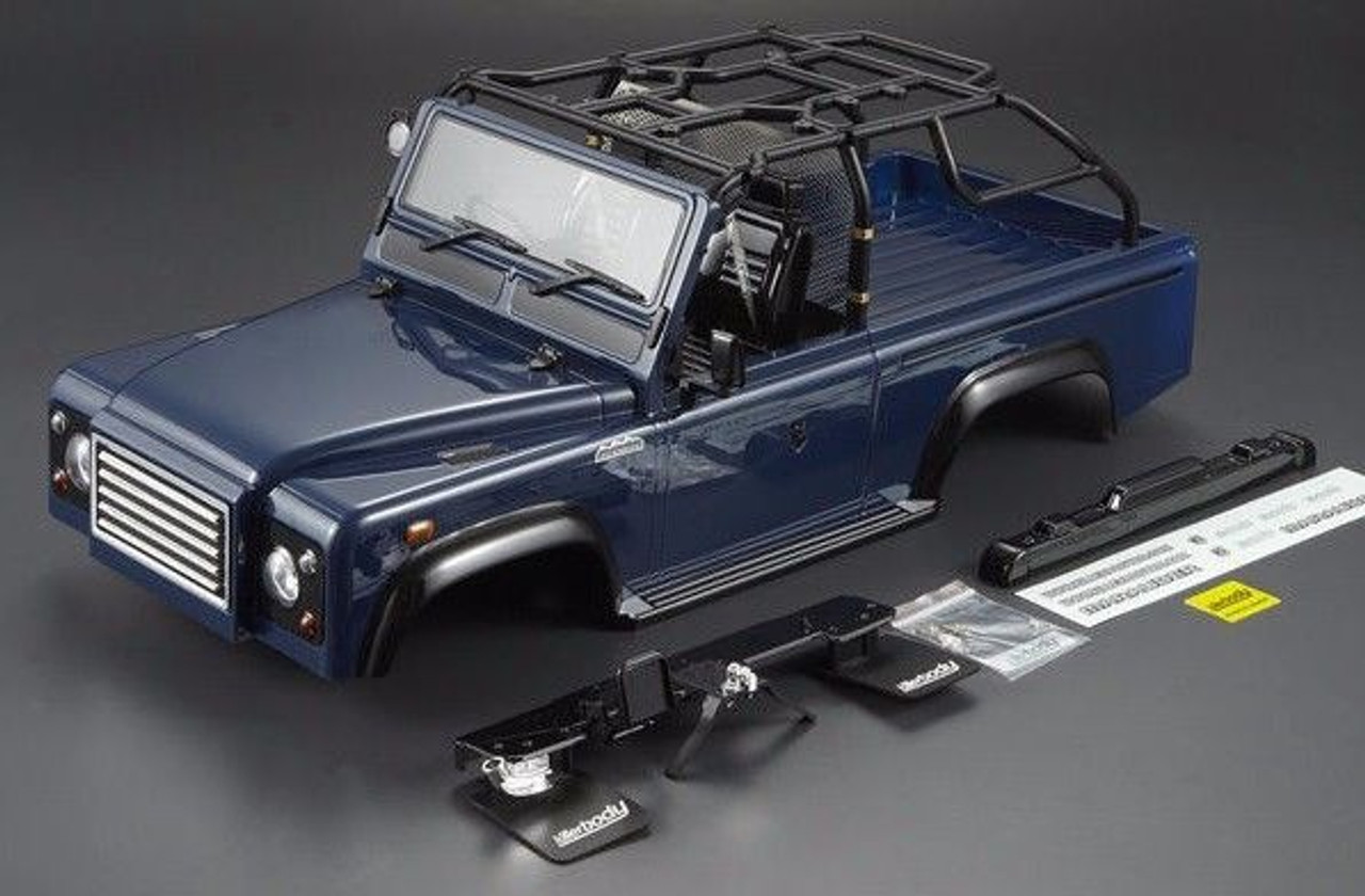 Scale Rc Truck Body Shell 1 10 Marauder Rock Crawler Scx10 Snorkle Blue Rc World
