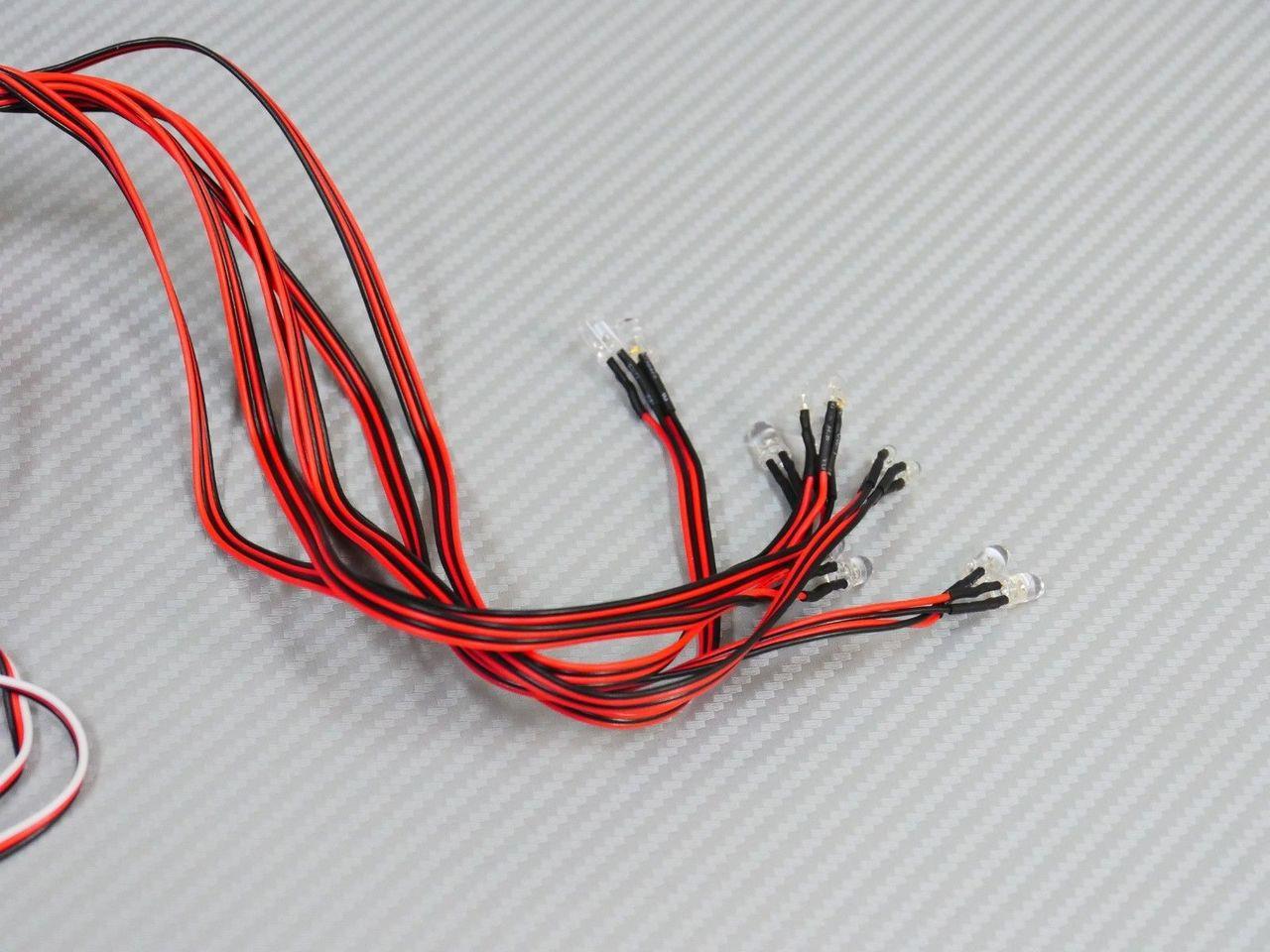 1//10 RC Car LED LIGHT SET w// Control Box For Skyline HT 2000 Killer Body #48687