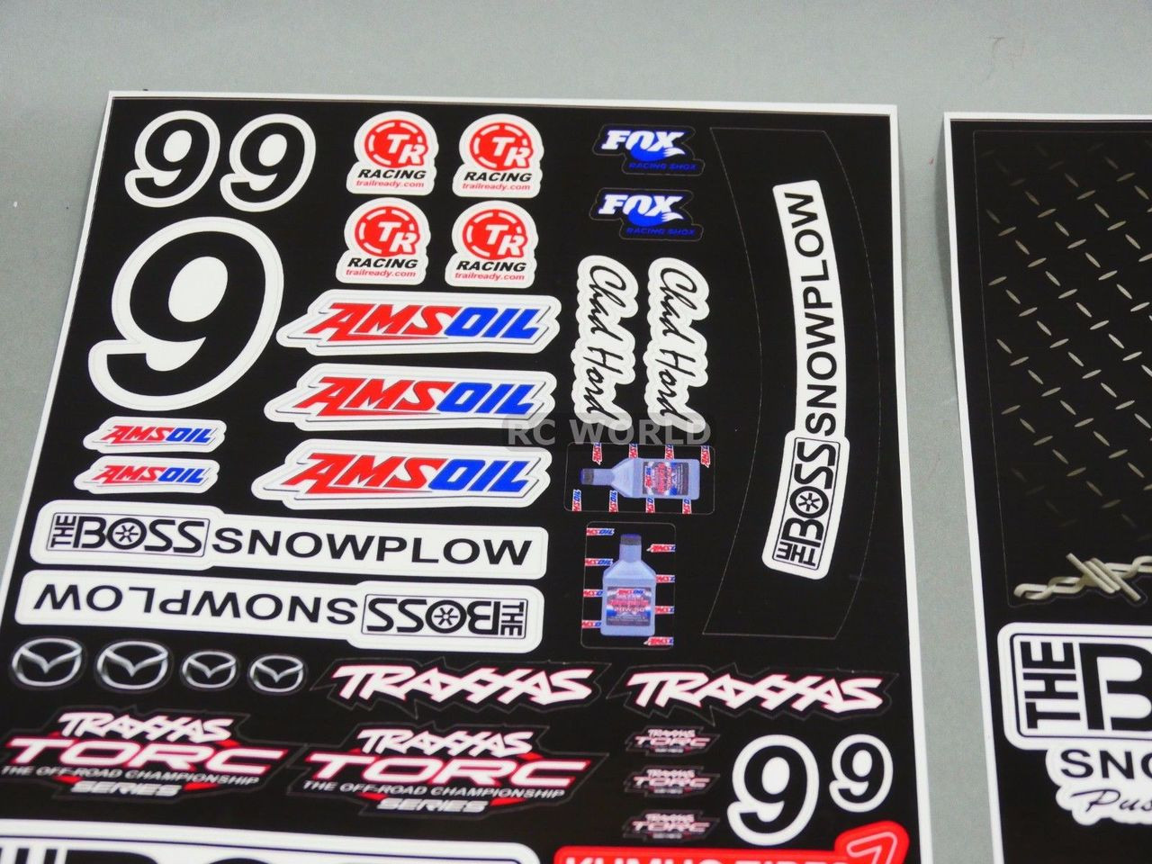 Rc 1 10 short course baja truck decals stickers the boss sc10 slash new