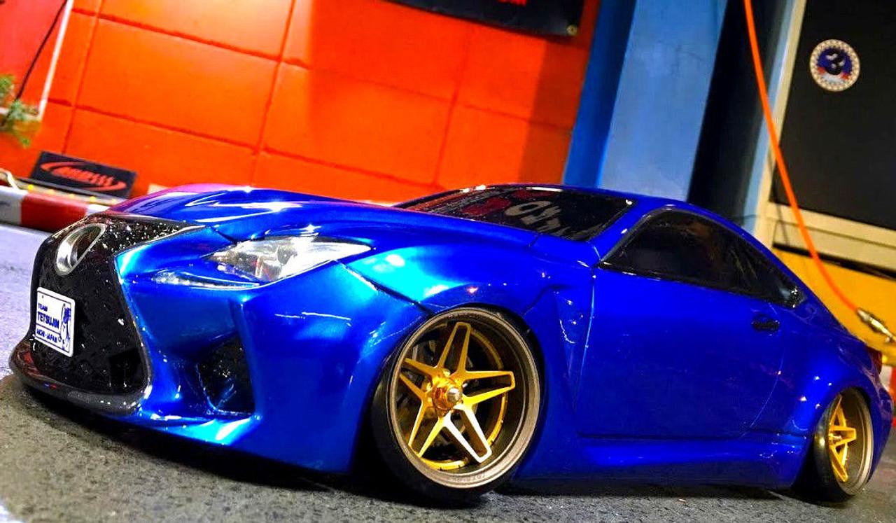 1/10 RC Car Body Shell LEXUS RC F Performance DRIFT BODY