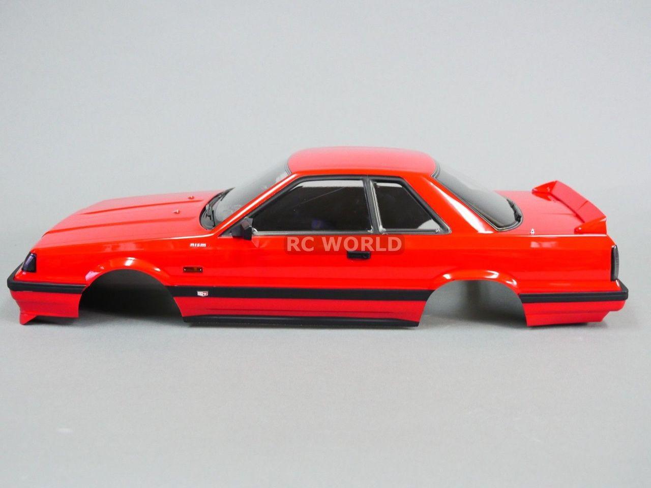 1 10 Rc Car Body Shell Nissan Skyline R31 190 Mm Clear Unassembled Body Rc World