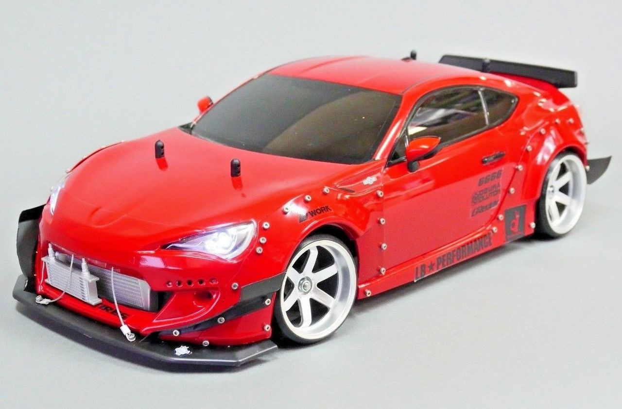 1/10 RC Rocket Bunny WIDE Body TOYOTA 86 FRS Subaru BRZ Drift Body Kit