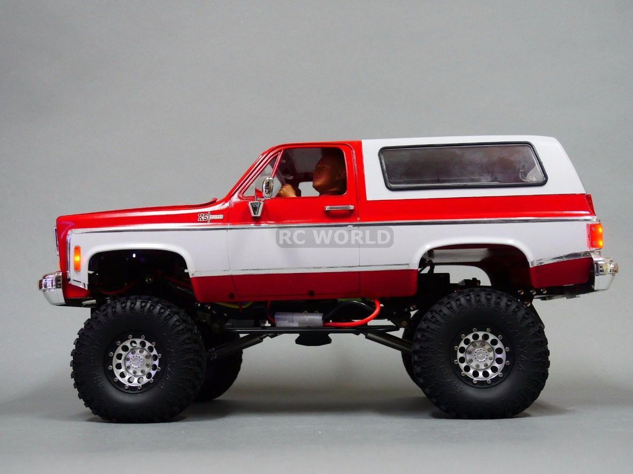 1 10 Rc Custom All Metal Chevy Blazer K5 Rc Truck 2 Speed 4wd Engine Sounds Rc World