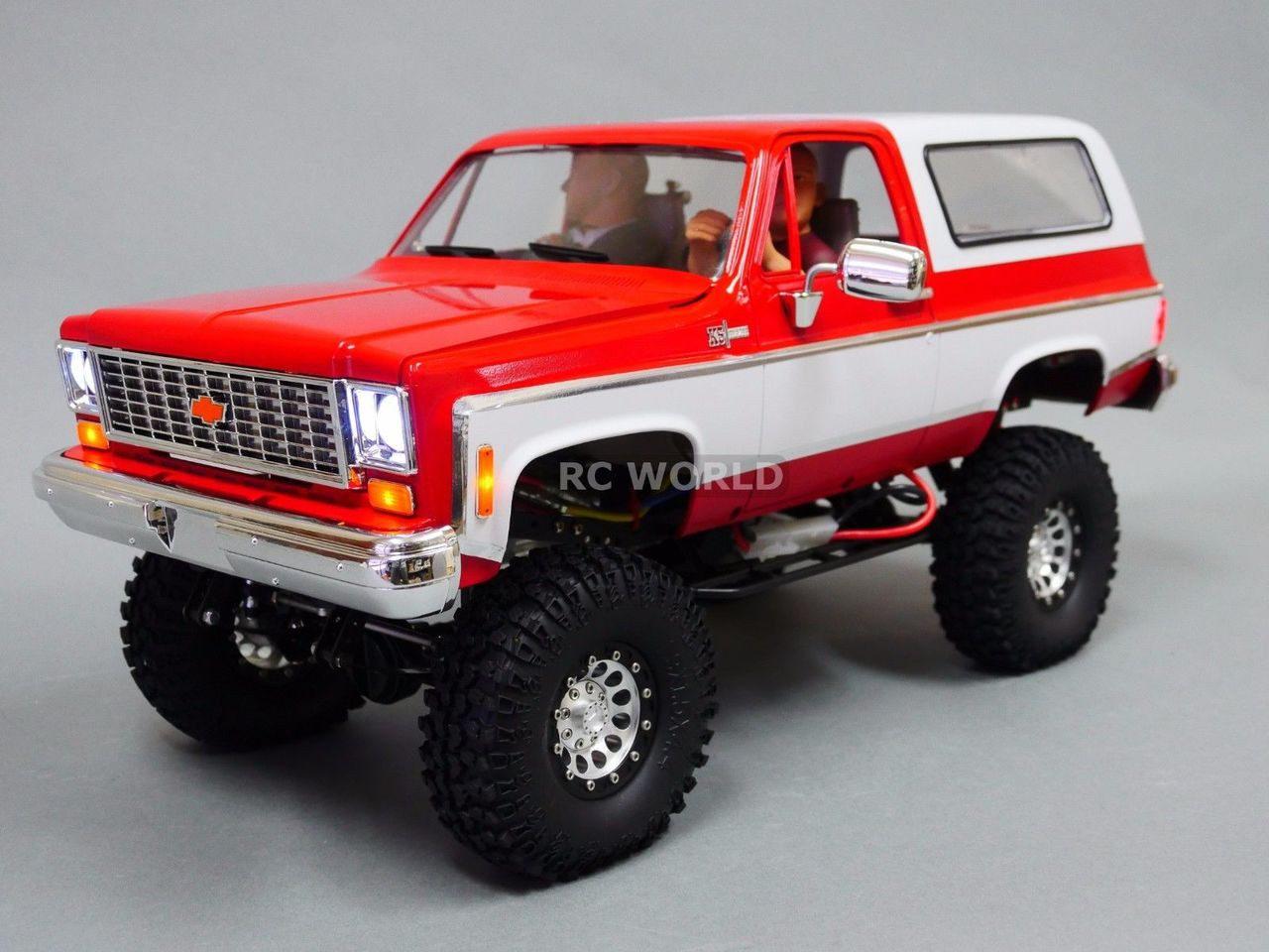 1 10 Rc Custom All Metal Chevy Blazer K5 Rc Truck 2 Speed 4wd Engine Sounds Rc World