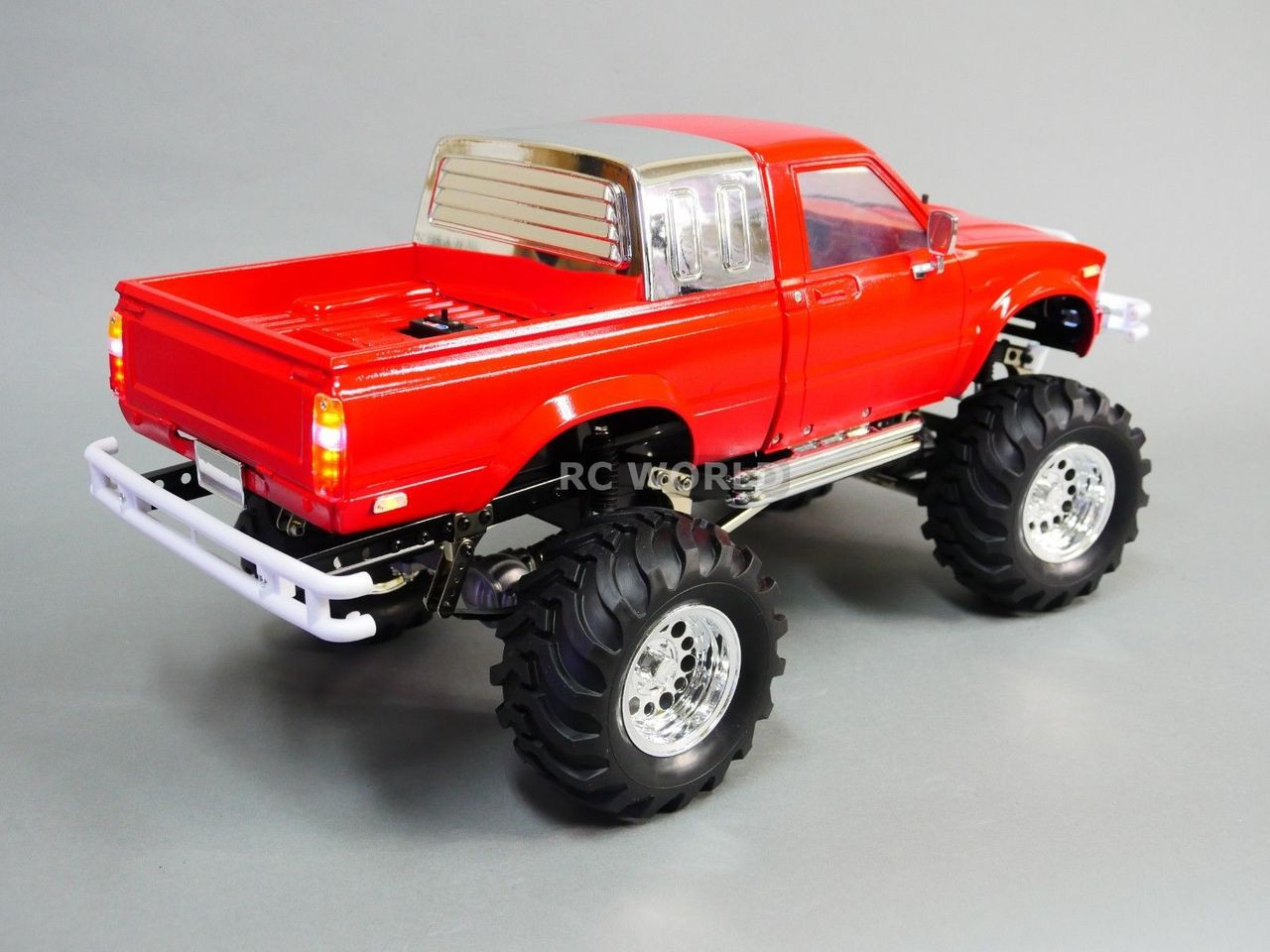 Toyota Pickup 4x4 >> Rc 1 10 Scale Truck Toyota Pickup Bruiser Clone 4x4 Rc Truck 2 Speed Rtr Red