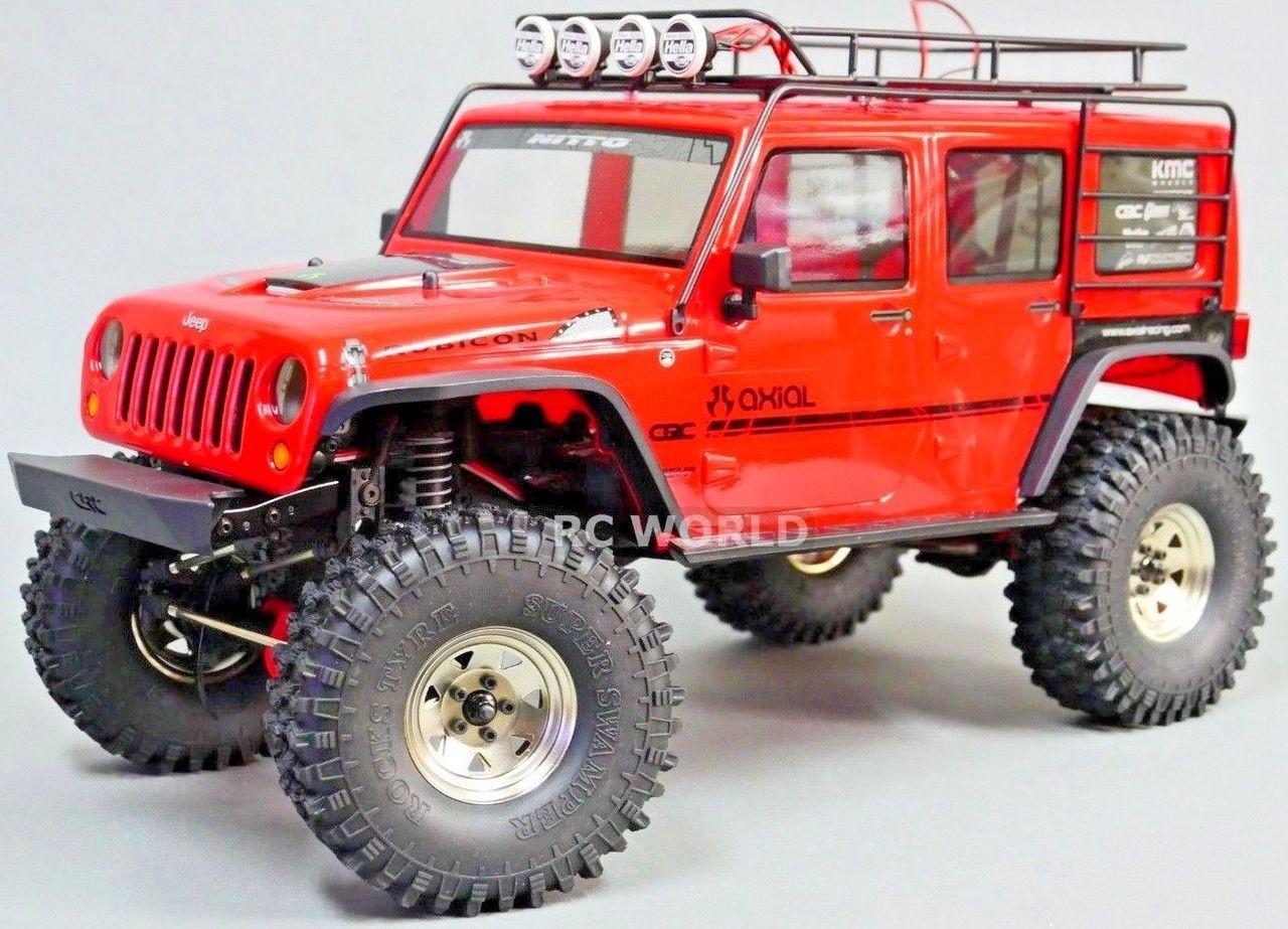 axial jeep wrangler 1.9 steel stamped beadlock wheels w/ 120mm tires