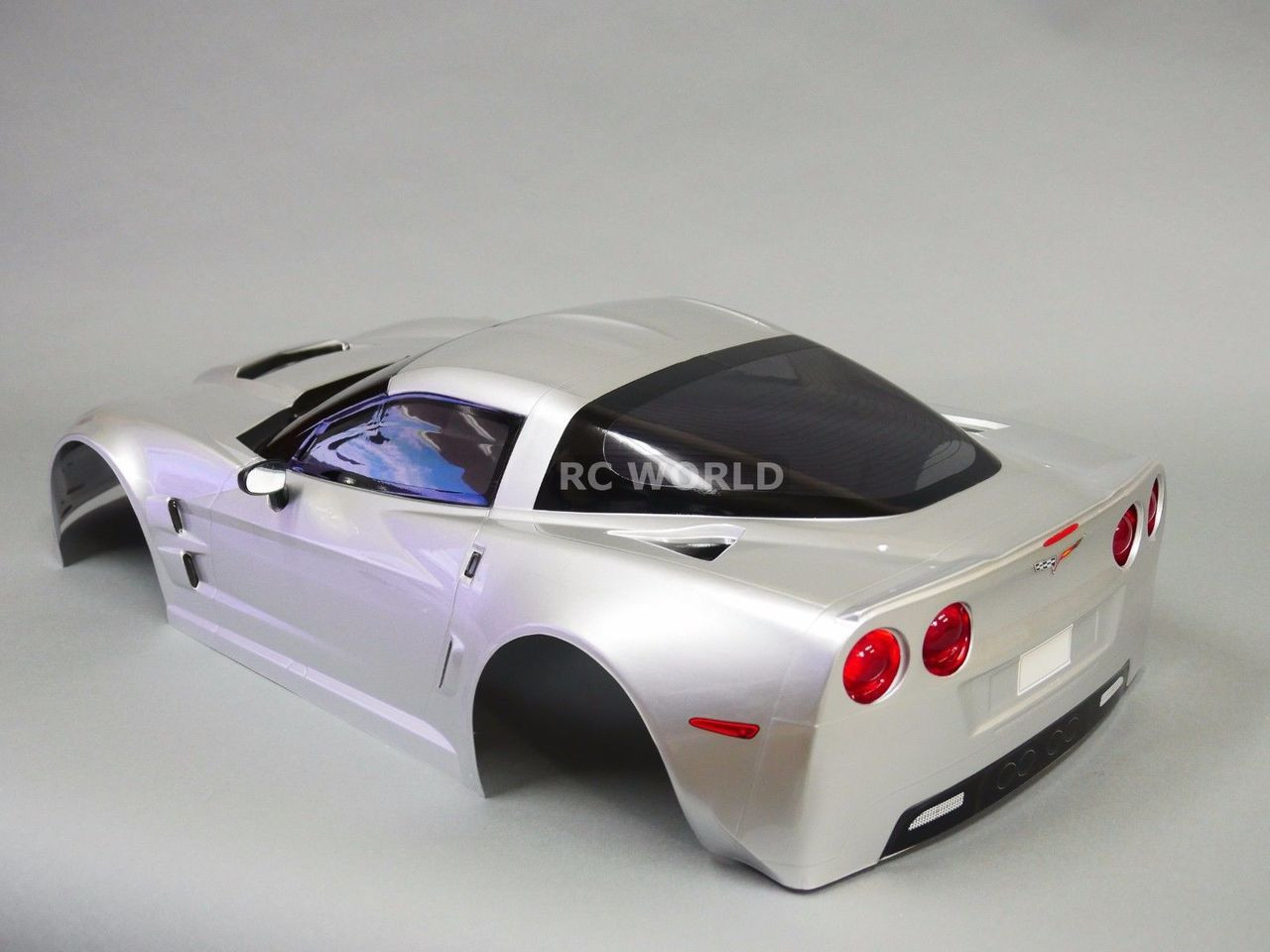 For 17 Traxxas Xo 1 Rc Car Body Shell Chevy Corvette Wlight
