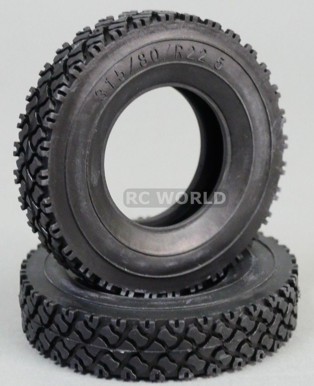 Semi Truck Tires Near Me >> Rc 1 14 Scale Truck Tires 92mm For Tamiya Semi Trucks 2pcs Rc World