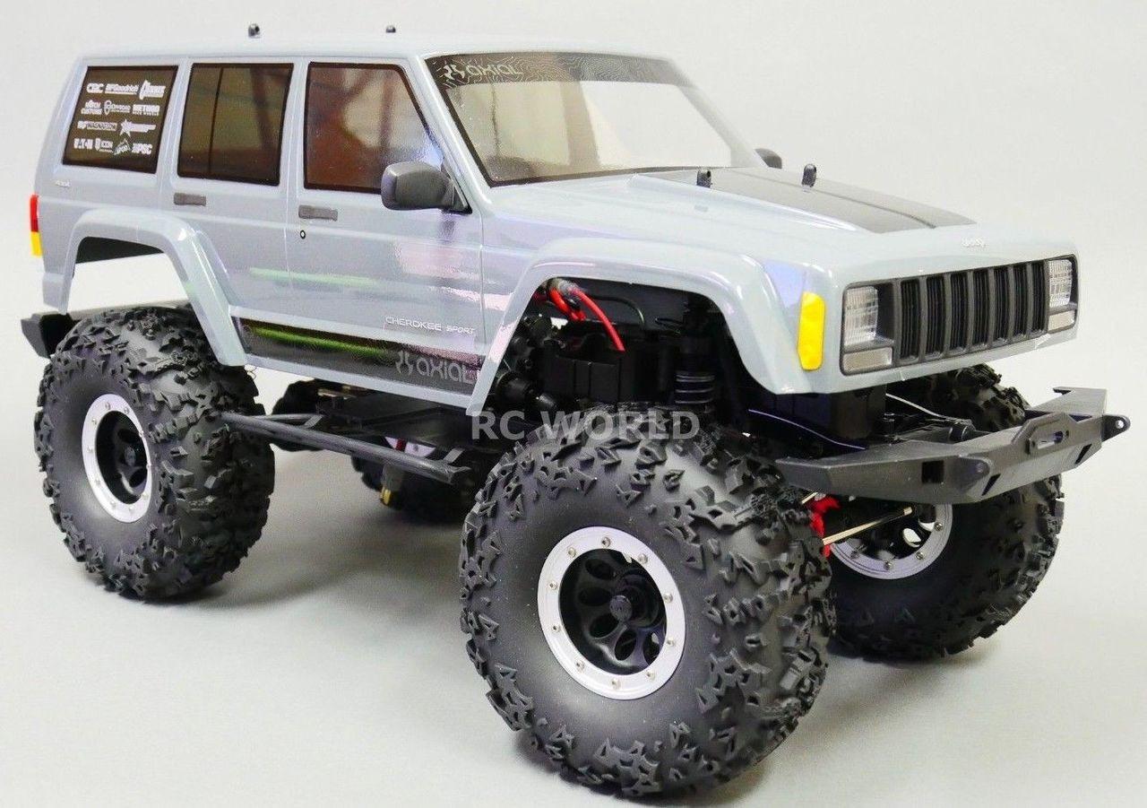 Lifted Jeep Cherokee >> Axial Jeep Cherokee 2 2 Beadlock Crawler Wheels Tires 140mm 5 5 Lift Kit