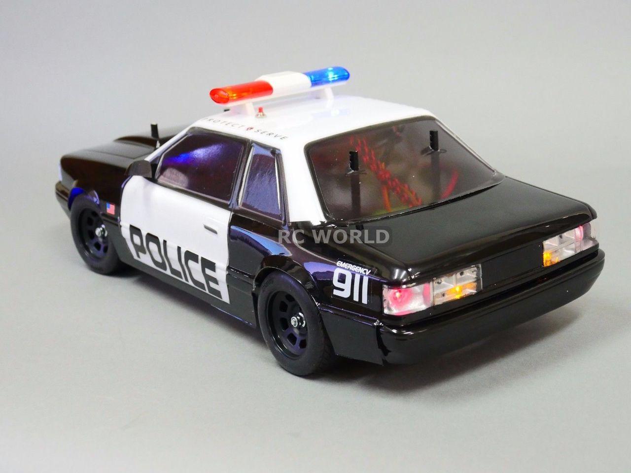 1 10 Rc Car Police Lights Top Light Bar Metal Police