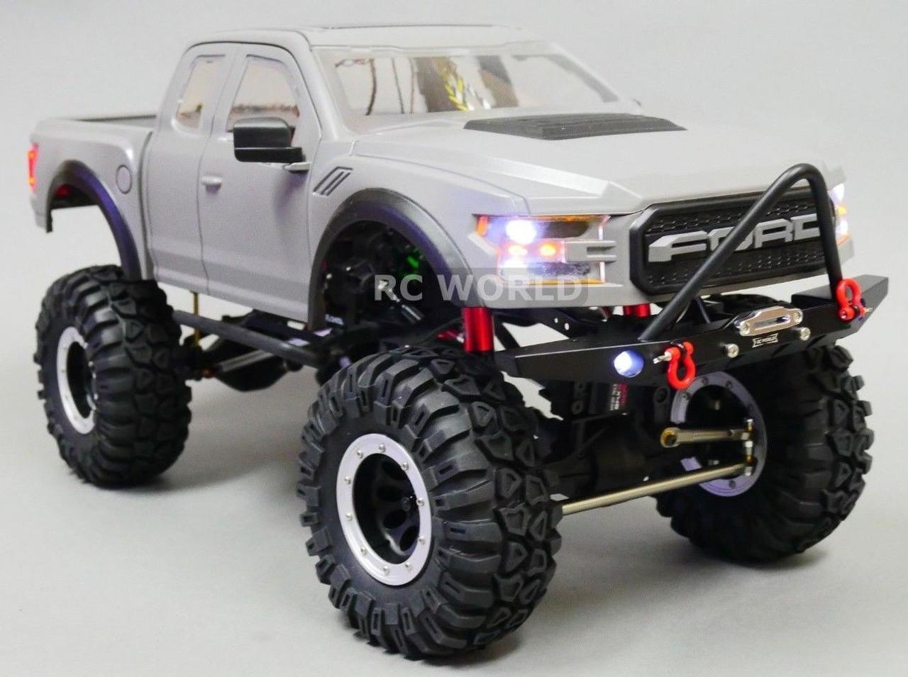 Rc 1 10 Ford Raptor Truck Hard Body