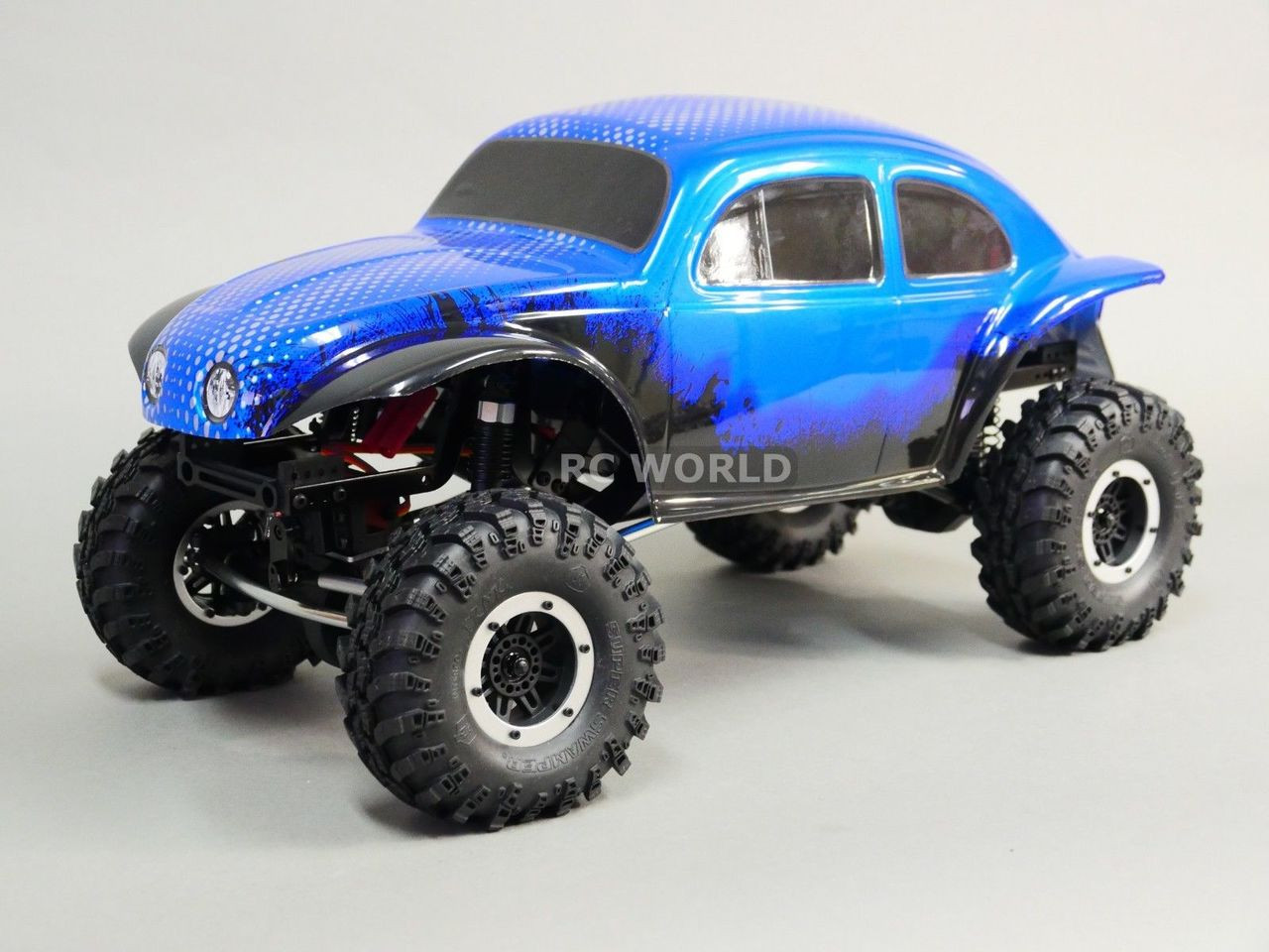 Rc 1 10 Truck Body Baja Monster Beetle Bug Rock Crawler 313mm Painted Orange