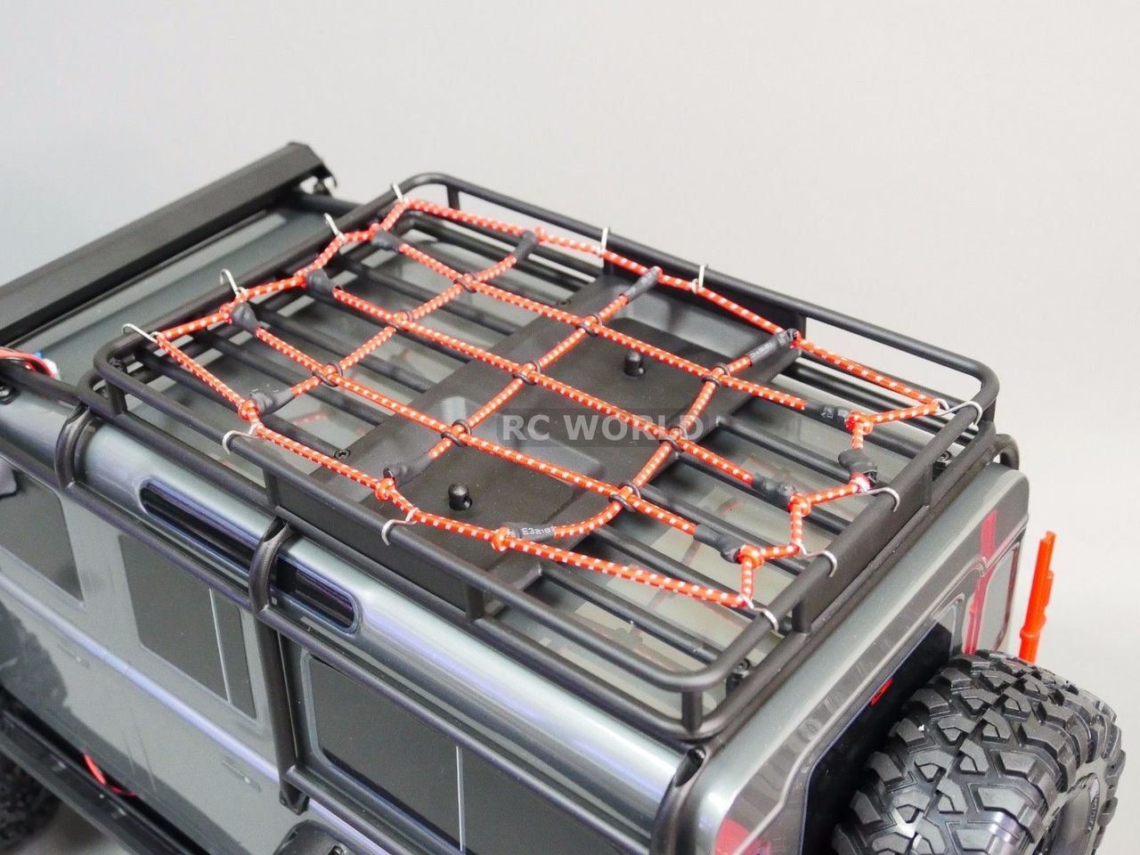 Rc Truck Scale Roof Accessories Bungee Cord Net Cargo Net For Roof