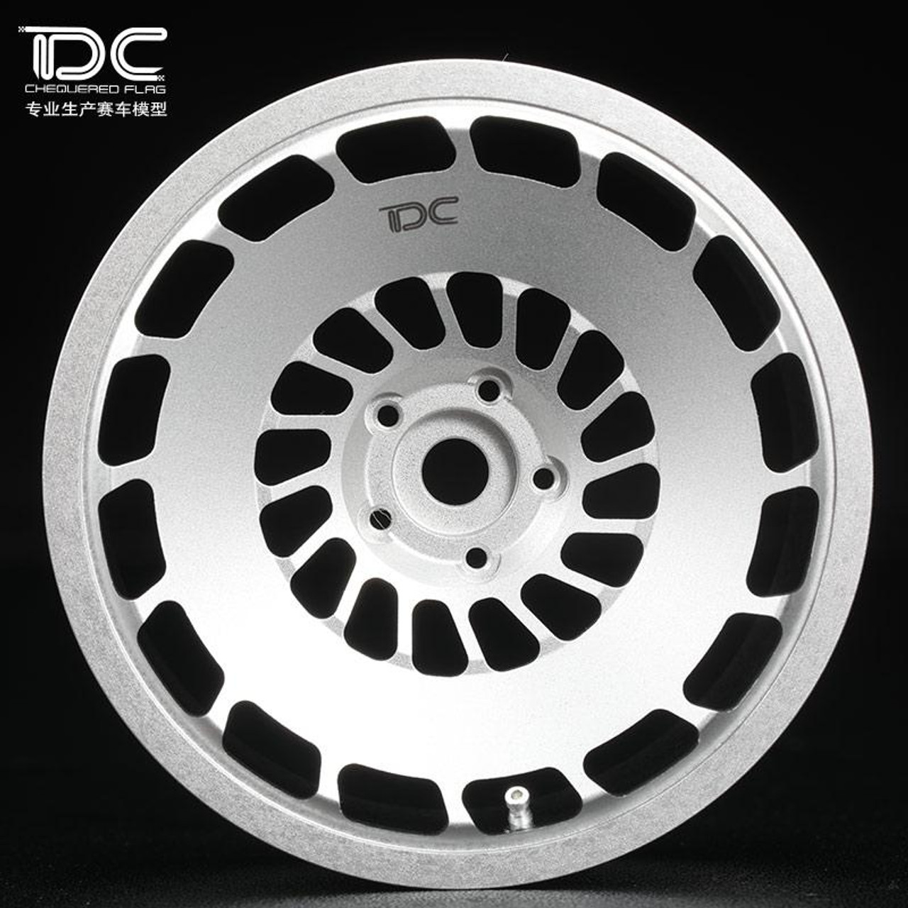 Team Dc Rc 110 Metal Drift Wheels 6mm Offset Ccv Vw Golf 4pcs