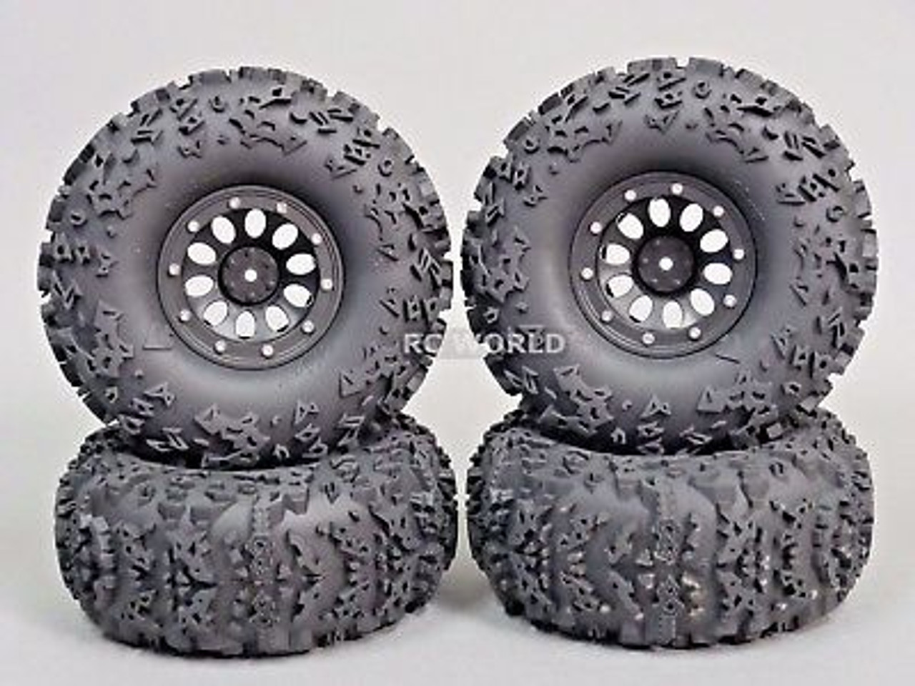 Truck Wheels And Tires >> Rc Truck Wheels 2 2 Beadlock Rims Red