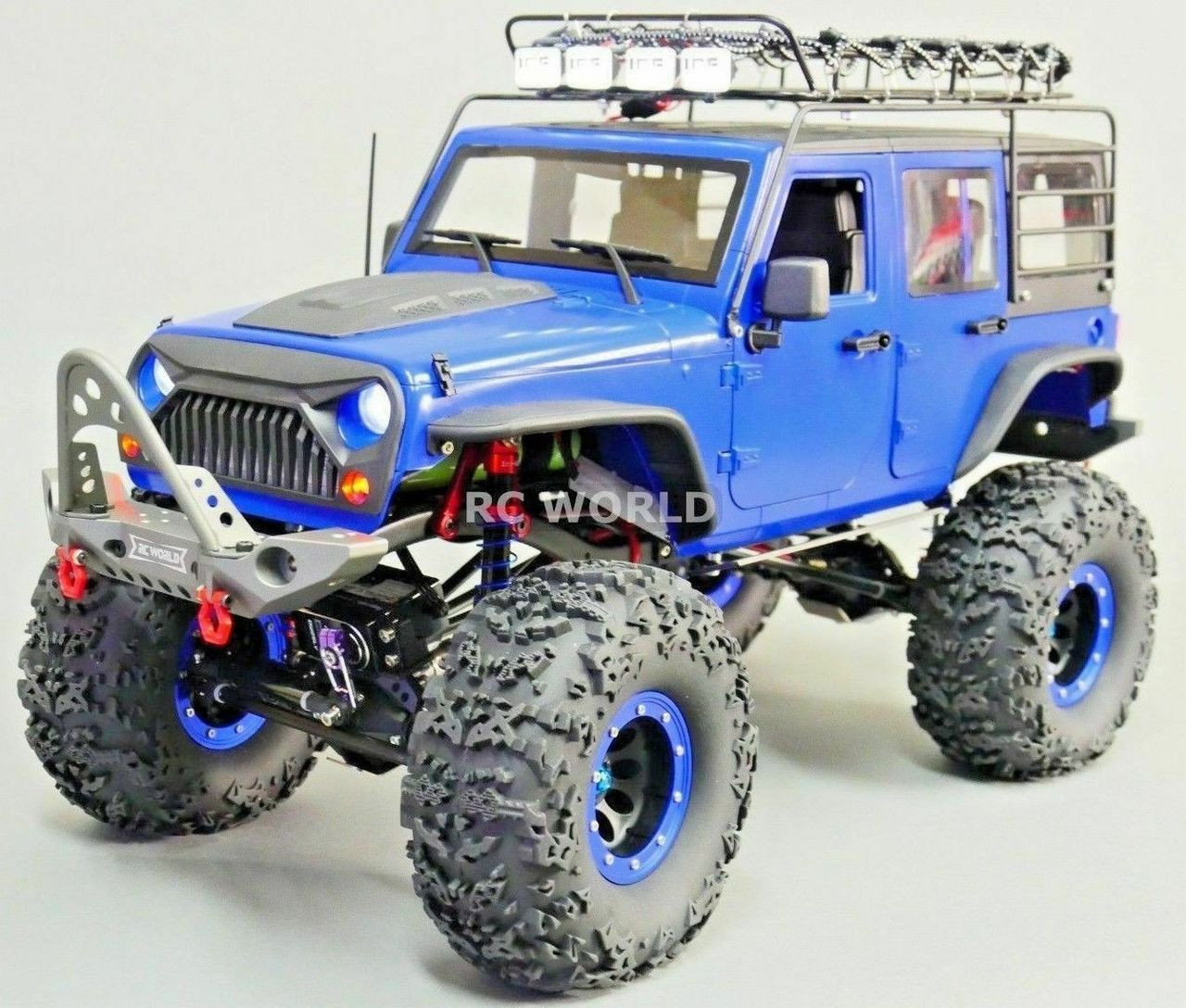 Rc Jeep Wrangler Hard Body Chassis