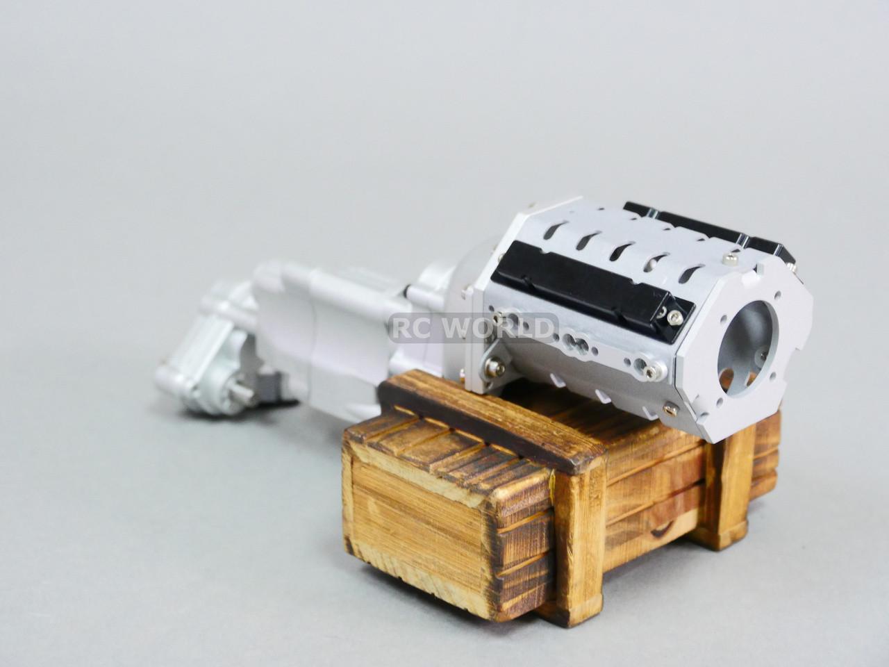 Fengshengli Cinghia Trasmissione Ingranaggi Sistema per Axial SCX10 /& SCX10 II 90046 1//10 RC Auto Crawler Aggiornamento Parti FAI DA TE