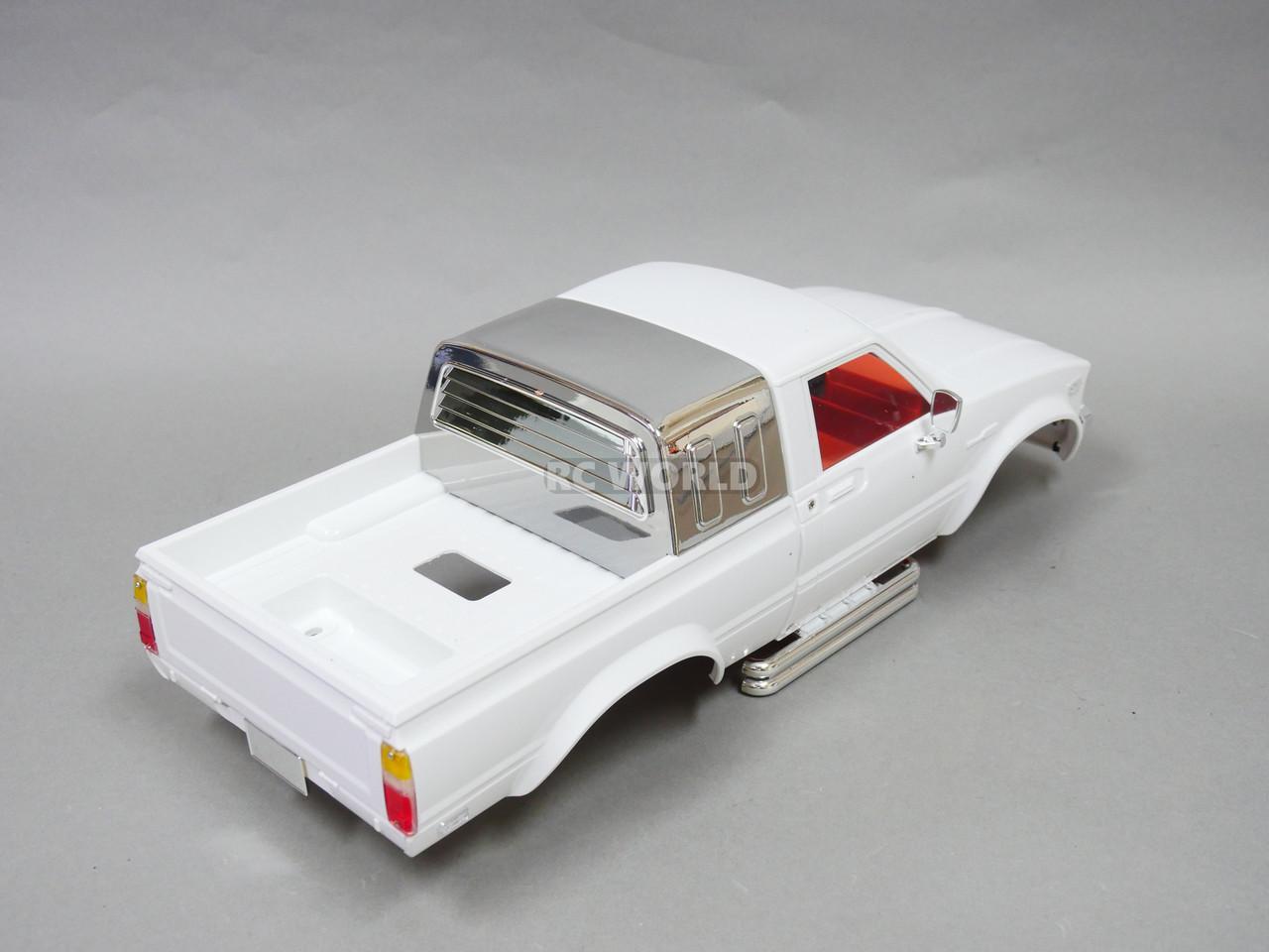 RC 1//10 Truck HARD Body Shell TOYOTA PICKUP TRUCK Scale Body Shell BLACK