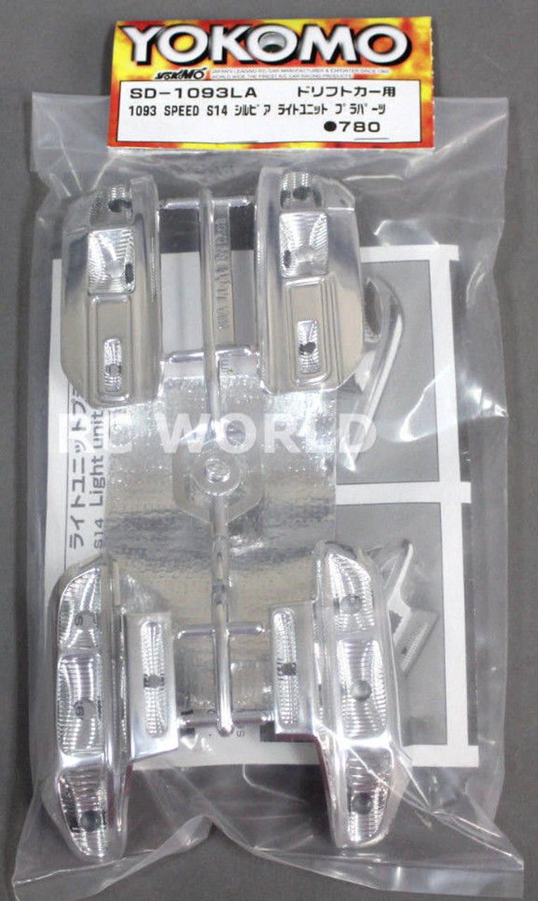 Yokomo 1//10 RC Car LIGHT BUCKETS For 1093 SPEED S14 SILVIA SD-1093LA