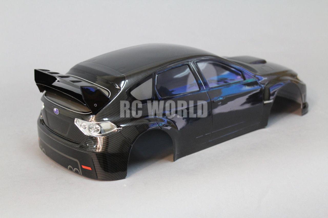 1 10 Rc Car Body Shell Subaru Impreza Sti 190mm Body W L E D Lights