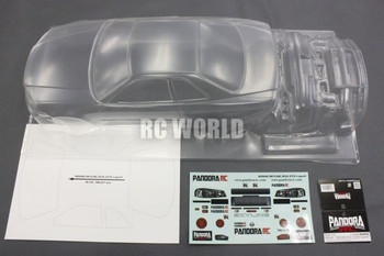 RC 1/10 NISSAN SKYLINE GT-R R35 LB Car Body Shell