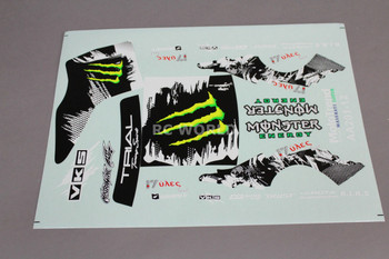 RC Car Truck RACING Drift DECALS Stickers MONSTER ENERGY Nissan 180 Logo Sponsor