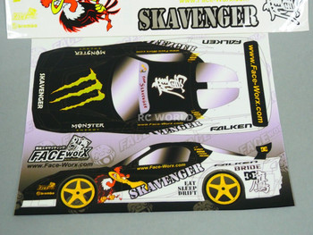 RC 1/10 Car DRIFT Decals SKAVENGER CONDOR DRIFT Decals Stickers *NEW*