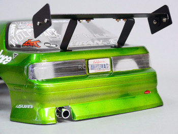 RC 1/10 Car Accessories METAL WING SPOILER - For 1/10 Drift RWD Downforce