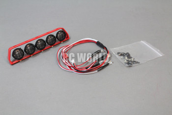 RC Scale  Accessories All Metal LIGHT BAR WITH L.E.D LED LIGHTS