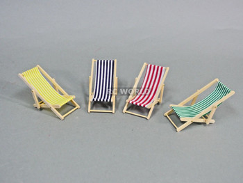 RC 1/10 Scale Accessories BEACH CHAIRS Foldable Chair (4 Chair Set)