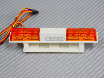 1/10 RC  POLICE EMERGENCY LIGHTS Light Bar  YELLOW