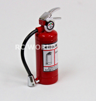 RC 1/8 Scale Accessories METAL FIRE EXTINGUISHER w/ LED Light