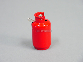 RC 1/10 Scale Accessories PROPANE GAS TANK Red
